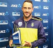 Rain spoils final day's play, SA win series