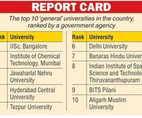 Tezpur beats Delhi in varsity ranking