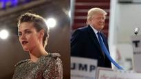 'Trump was really obsessed with me': Kristen Stewart