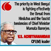 VS for CPI(M)-Cong. tie-up in West Bengal