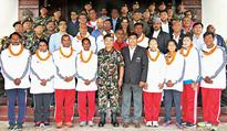 Army wishes luck for Olympic squad
