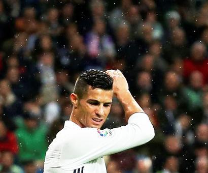 Ronaldo scripts unwanted personal record at Real