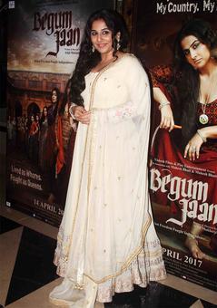 PIX: Vidya Balan, Gauahar watch Begum Jaan