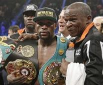 'Floyd still whoops all of them': Mayweather Sr talks up a return for his son