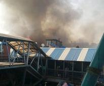Major fire outside Bandra station in Mumbai, train services resumed