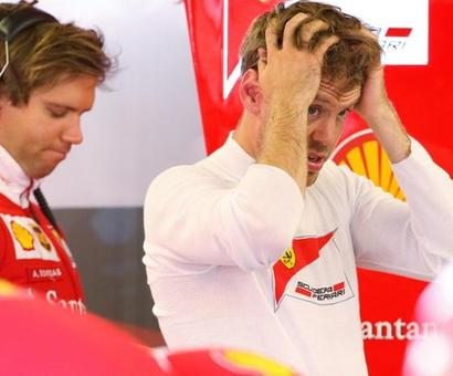 No further action against Ferrari's Vettel over collision with Hamilton