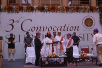 Odisha Governor inaugurates Third Convocation of Sri Sri University; Education to build Personality says Sri Sri Ravi Shankar