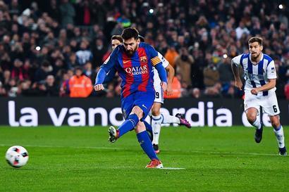 King's Cup: Barcelona thrash Real Sociedad to reach semis