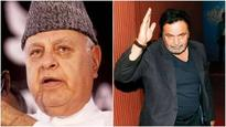 Farooq Abdullah, Rishi Kapoor's remarks on POK start virtual war