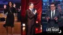 Late-Night Lately: Michelle Obama Says Goodbye, Neil Patrick Harris Sings Broadway, Hosts Mock Trump's