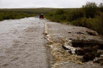 Dempster Highway reopens on Yukon side, but Peel River ferry still out