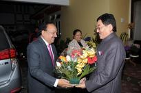 Dr. Harsh Vardhan on three days Sikkim visit