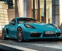 Porsche 718 Cayman and Boxster Launched In India; Prices Start At Rs 81.63 Lakh