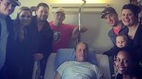 'It's onwards and upwards:' Bret 'The Hitman' Hart says after cancer surgery