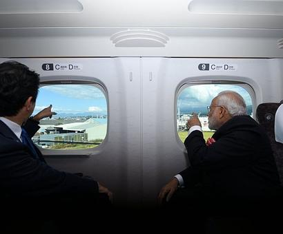 Bullet trains and more: Modi, Abe's big plans