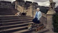 Photo of Queen, her corgis released on 90th birthday