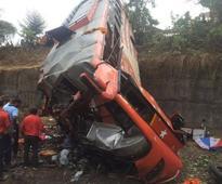 PHOTOS: Mumbai-Pune Expressway accident that killed 17