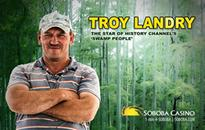 Swamp King Troy Landry is Stepping Out of the Bayou and into Soboba...