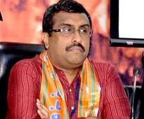 Ram Madhav arrives in J&K to discuss cabinet seat sharing arrangement