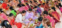 Kalasa puja performed at Prema Sadan