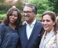 Michelle Obama, only first lady to visit Pakistan Embassy in DC