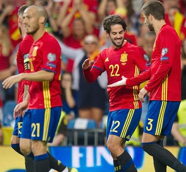 World Cup qualifiers: Spain show dominance, Finland, Serbia win
