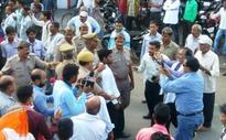 Rahul Gandhi blames BJP-RSS for shoe attack in Sitapur roadshow