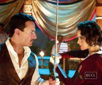 Saif Ali Khan helps choreograph sword fighting sequence for 'Rangoon'