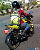 Bajaj 200 NS equipped with ABS spotted testing