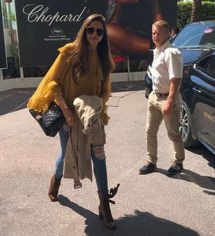 Because she's worth it! Deepika arrives for Cannes film festival