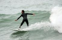 French amputee surfs again in 'revenge' on shark
