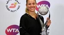 Kerber, Keys advance at WTA Finals in Singapore