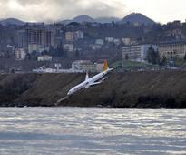 Turkish passenger plane skids off runway metres away from Black Sea coast