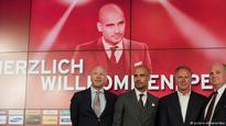 Bayern Munich unveil Pep Guardiola as new coach