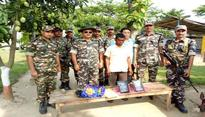 China made Heroin worth Rs. 6 crore seized by SSB