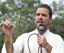 Rahul Gandhi discusses SP's factional fights, poll pacts with UP lawmakers