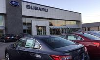 Subaru volume rises 11%, sets monthly record