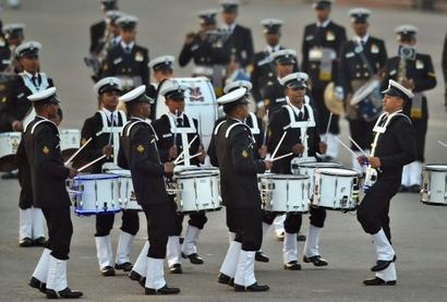 The majestic Beating Retreat ceremony regales crowd at Raisina Hill