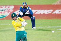 Rapid fire Miller leads South Africa to victory  SA beat Sri Lanka by 19 runs in 10-over match