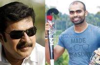 Sreejesh gets a pat from Mammootty
