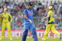 Former captain Dhoni's popularity in evidence at Eden
