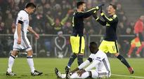 Arsenal top group after 4-1 win against Basel