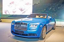 Rolls-Royce Dawn launched in Oman