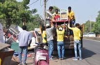 Removing Bhanpur Khanti landfill, but BMC creating another junkyard on Arera Hills
