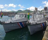 Mauritius Coast Guard Service commissions ten patrol boats