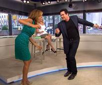 Hoda gets down on the dance floor with Dean Cain