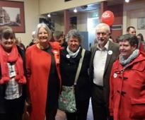 Labour leader Corbyn holds West Cumbrian rally: with video