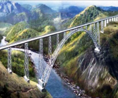 A rail bridge taller than Eiffel Tower on Chenab soon