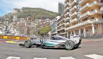 F1: Lewis Hamilton fastest in practice at Monte Carlo GP
