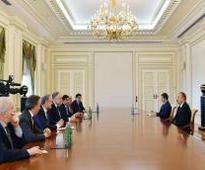 President Ilham Aliyev received delegation of World Jewish Congress [UPDATE]